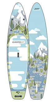 SUP доска Gladiator FOREST 11.2