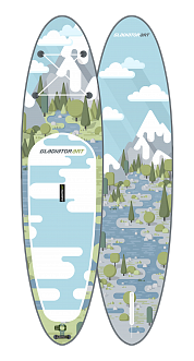 SUP доска Gladiator FOREST 10.6
