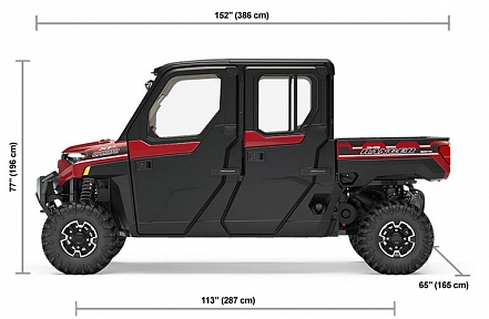 Мотовездеход POLARIS RANGER Crew XP1000 EPS NorthStar Edition
